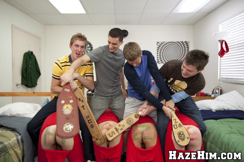 Frat Boy Cock Suckers Initiation